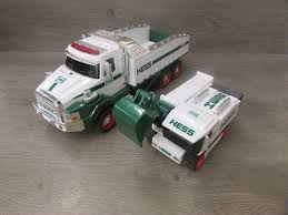 HESS 2017 TOY Truck Dump & Truck Loader Collectible Toy Trucks ...