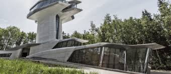 100 Capital Hill Residence How Zaha Hadids Spaceship House Landed In A Russian Forest OKO