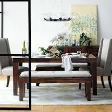 Black Dining Table With Bench Dark Farm