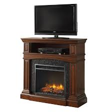 Decor Flame Infrared Electric Stove by Shop Febo Flame 42 In W 5 120 Btu Cherry Wood And Metal Infrared