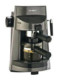 Mr Coffee Latte Maker Manual Pump Espresso Cappuccino Machine Steam