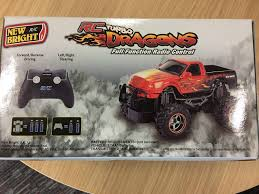 New Bright RC Turbo Dragons Radio Remote Control Car Truck Inferno ... New Bright Rc Radio Control Monster Jam Truck Mutt Amazoncom Ff Bursts Grave Digger 115 Full Function Dragon Green 61030dr 114 Silverado Walmart Canada Buy Zombie 2015 Bright Rc Monster Truck Remote Toys Compare Prices 4x4 Mini Car 16 Vw Transformed To Rcu Forums Goes Brushless With The Frenzy Newb 18 Scale 4 X Mega Blast Red Black Chrome Commercial 2016 96v 110