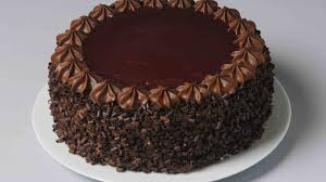 How To Decorate Chocolate Cake Easy Cake Decoration