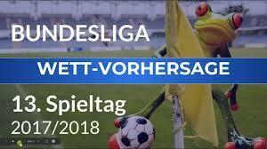 Bundesliga Vorhersage Zum 13 Spieltag ⚽ FußballTipps Prognosen