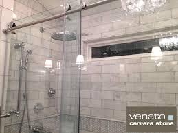 bathroom marble subway tile bathrooms carrara bathroom part