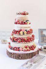 16 40cm Rustic Log Slice Wooden Wedding Cake Stand Centerpiece