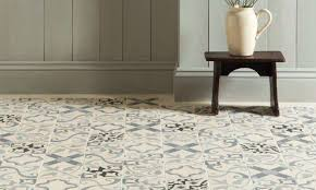 patterned ceramic floor tile 1401