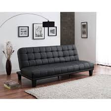 Buchannan Faux Leather Corner Sectional Sofa Black by Furniture Mainstays Sofa Sleeper Sofa Bed Faux Leather Faux