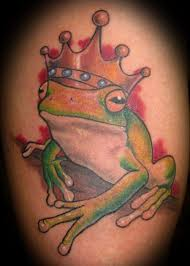King Of Frog Tattoos May Be Prince In Story
