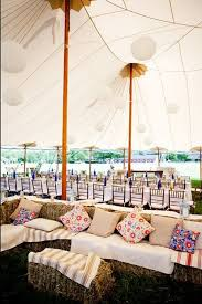Rustic BBQ Wedding Tent Decor Ideas