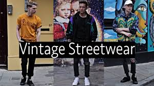 Streetwear Vintage Mens Fashion Lookbook By Anderson And Wilson