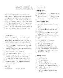 Office Assistant Resume Sample Doc Resumes Samples For Administrative Objective