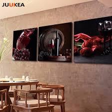 3 panel hd fotografie roten trauben wein leinwand kunstdruck malerei poster wandbild für küche und esszimmer wohnkultur