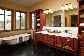 Chandelier Over Bathroom Vanity by Furniture Stylish Bathroom Cabinets With Sink And Square Miror