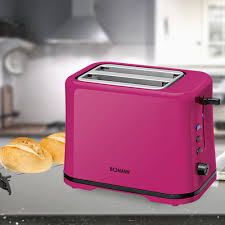 Bomann Purple Toaster