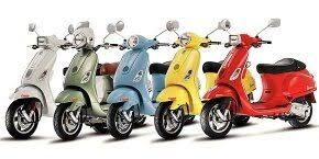 Vespa Scooters In India