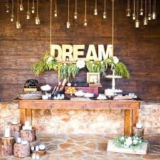 Rustic Garden Ideas Wedding