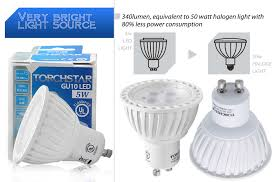 ul listed 110v 5w gu10 led bulb warm white daylight led