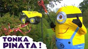 Minions In Real Life IRL Open Tonka Truck Pinata Surprise Toys Candy ... Wilko Blox Dump Truck Medium Set Amazoncom Pinata Kids Birthday Party Supplies For Personalized Cstruction Theme Etsy Huge Tonka Surprise Toys Boys Tinys Toy Dump Truck Pinata Google Search Cumpleaos Pinterest Cstruction Custom Garbage Trucks Cartoons Elisekidtvkids Opening Piata Logo Also Hoist Cylinder As Well Hauling Prices 2016 Puppy Monster Ss Creations Pinatas Ideas On Purpose Little Blue 1st The Diary Of Mrs Match