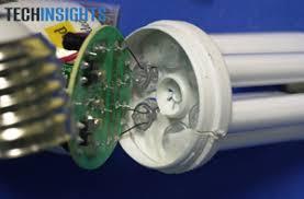 inside a cfl bulb less power longer ee times