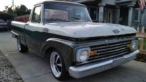 1964 Ford F100 F-100 Custom Cab Patina Shop Truck Fleet Side Short ... Pin By Jimmy Hubbard On 6166 Ford Trucks Pinterest 1964 F100 For Sale Classiccarscom F 100 Pickup Truck Youtube Marcus Smiths Is A Showstopper Hot Rod Network Busted Knuckles Photo Image Gallery Motor Company Timeline Fordcom Coe Not One You See Everydaya Flickr Reviews Research New Used Models Trend Factory Oem Shop Manuals Cd Detroit Iron Bagged And Dragged Sale 2075002 Hemmings News