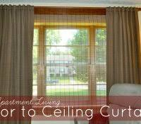 No Drill Curtain Rods Ikea by No Curtain Rod Brackets Apartment Interior Room Dividers