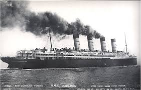 Lusitania Sinks In Real Time by Ad Orientem Remembering The Lusitania