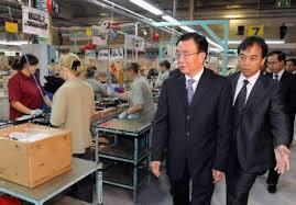 bureau tcl senior cpc official visits tcl tv manufacturing plant in poland