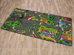 tapis de jeux voitures tapis de jeux trafic tapis circuit 0 95m x 2 00m fr