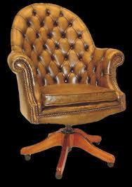fauteuil bureau en cuir fauteuil de bureau anglais executive longfield 1880