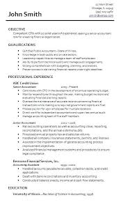 Accounting Resume Sample Public Examples