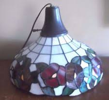 Aurora Candle Warmer Lamp by Aurora Candle Warmer Lamp Shade Floral Stain Glass Ebay