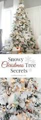 Flocking Artificial Christmas Trees by Craftberry Bush The Flocked Tree Secret Garland Revealed Use