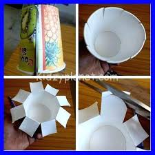 Craft Activities For Preschoolers Kindergarten Kids Planet From Waste Steps How To Make Paper Cup Basket Farmacy Reviews