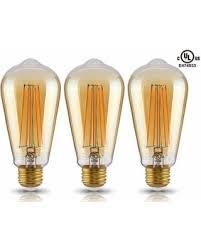 deal alert led st19 vintage filament light bulb st64 s21 antique
