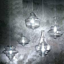 blown glass pendant lighting for kitchen hangg blown glass pendant
