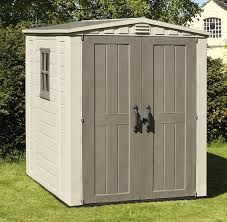 8 X 6 Resin Storage Shed by Keter Factor Outdoor Plastic Garden Storage Shed 6 X 6 Feet
