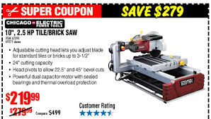 Harbor Freight Tile Saw 10 by Harbor Freight Massive Discounts Save Up To 78 Milled