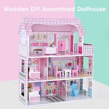 Amazoncom ROBOTIME Miniature Dollhouse Kits DIY Toy House