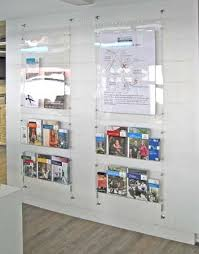 Church Literature Racks Wall Display