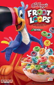 Kelloggs Froot Loops Cereal