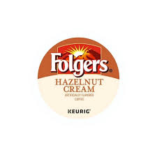 Folgers Hazelnut Coffee Cream K Pods For Less Nutrition