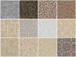 SKETCHUP TEXTURE OUTDOOR PAVING STONE COBBLESTONE