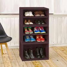 Simms Modern Shoe Cabinet Assorted Colors by Dark Brown Shoe Storage Closet Storage U0026 Organization The