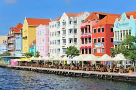 Dutch Caribbean Architecture In Curacao
