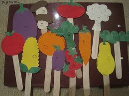 Susan Akins Posted Cute Vegetable Craft Puppets Letter V To Their