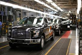 With Aluminum Body, Ford's New F-150 Is 700 Pounds Lighter | New ... Ford Tops Resurgent Us Car Industry 2013 Sales Results Show Kalw How Fords Largest Truck Factory Was Completely Overhauled In 8 Weeks Michigan F150 Plant Holds Key To Passage Of Uaw Deal New Starts Rolling Out Dearborn Plant Autoweek Celebrates Reopening Truck Radio From Scratch 2012 Lariat 4x4 Ecoboost Trend Super Duty Production Restart After Supplier Fire 2015 Begins At The Video Plants Undergo Quiet Revolution Henry Historic Rouge Is Reinvented Along With The F Chassis Assembly Detroit And Motor Co Assembly Reportedly Vandalized