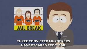 Jail Break News GIF By South Park