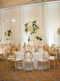 Reception Décor Photos - Gold-Backed Chairs At Round Tables ... Wedding Table Set With Decoration For Fine Dning Or Setting Inspo Your Next Event Gc Hire Party Rentals Gallery Big Blue Sky Premier Series And Wood Folding Chair With Vinyl Seat Pad Free Storage Bag White Starlight Events South Wales Home Covers Of Lansing Decorations Chiavari Elegant All White Affaire Black White Red Gold Reception Decorations Pink Oconee Rental In Athens Atlanta