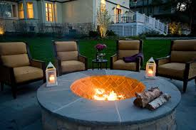 Outdoor Fire Pit In Highland Park - Van Zelst Patio Ideas Modern Style Outdoor Fire Pits Punkwife Considering Backyard Pit Heres What You Should Know The How To Installing A Hgtv Download Seating Garden Design Create Lasting Memories Of A Life Well Lived Sense 30 In Portsmouth Weathered Bronze With Free Kits Simple Exterior Portable Propane Backyard Fire Pit Grill As Fireplace Rock Landscaping With Movable Designing Around Diy